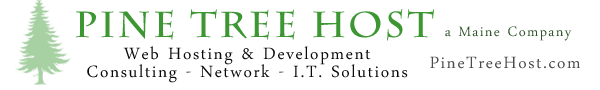 Web Hosting, Domains, Web Sites – Pine Tree Host